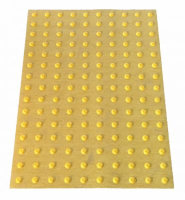 Tactile warning domes mat <br> for temporary use